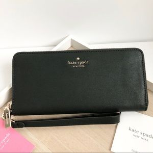 Kate Spade NY Connie slim leather wallet - new